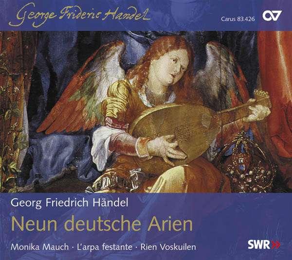 Händel Neun Deutsche Arien - Monika Mauch (Sopran)